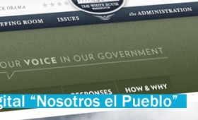 Democracia Digital, la Casa Blanca y «We the People»